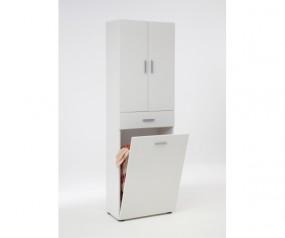 913 001 olbia waschmaschinenschrank berbauschrank weiss badezimmerschr nke badezimmer. Black Bedroom Furniture Sets. Home Design Ideas